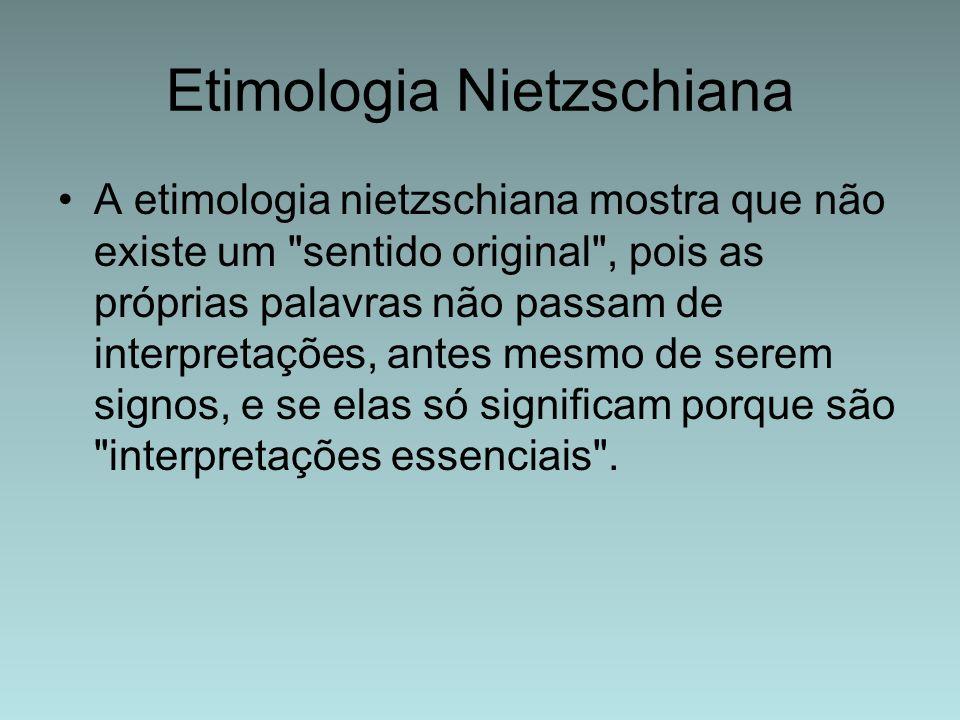 Etimologia Nietzschiana