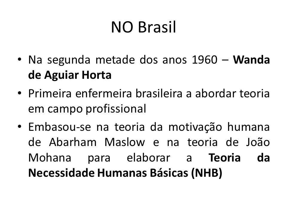 NO Brasil Na segunda metade dos anos 1960 – Wanda de Aguiar Horta