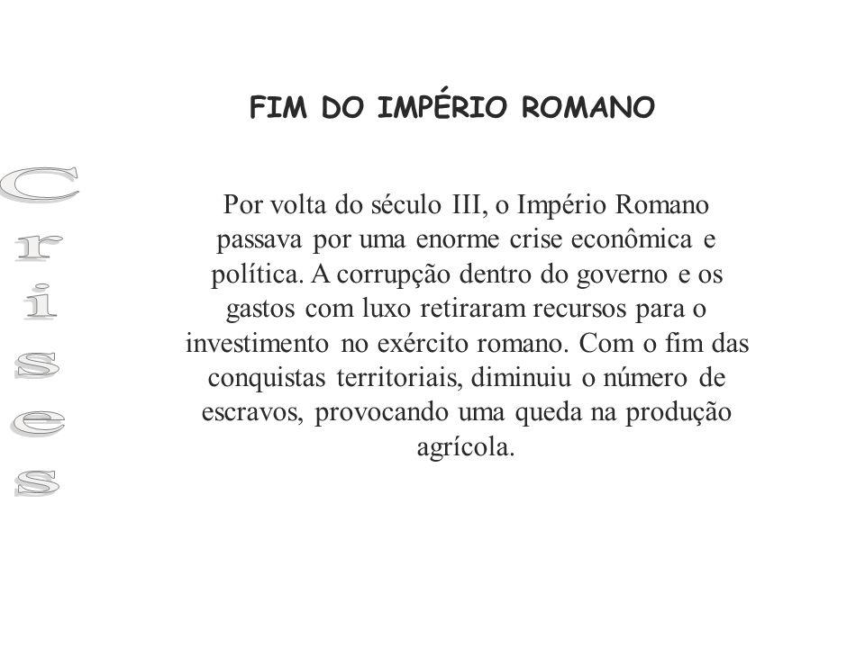 Crises FIM DO IMPÉRIO ROMANO