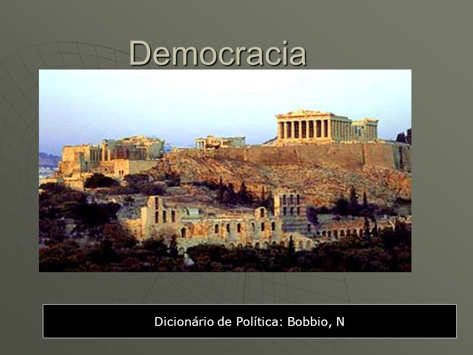 Dicionário de Política: Bobbio, N