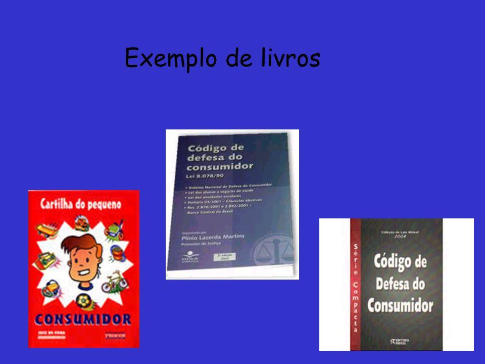 Exemplo de livros