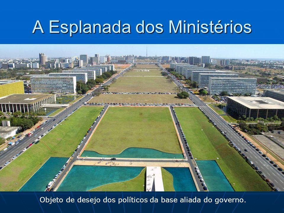 A Esplanada dos Ministérios