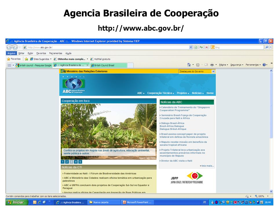 Agencia Brasileira de Cooperação