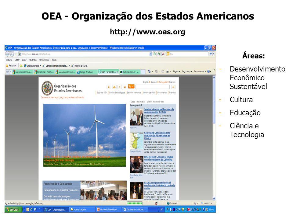 OEA - Organização dos Estados Americanos