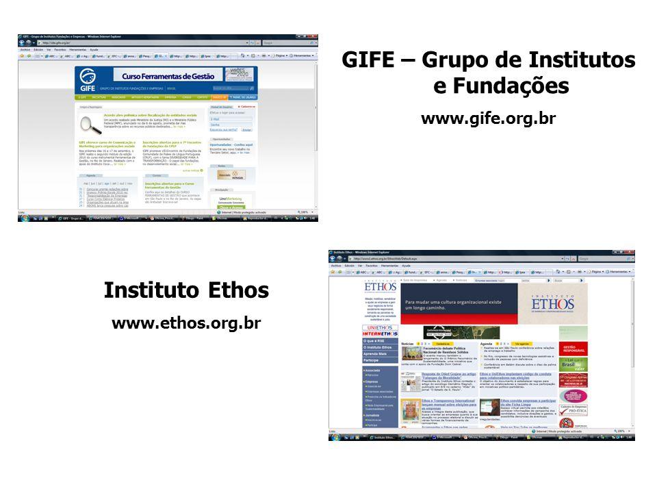 GIFE – Grupo de Institutos e Fundações
