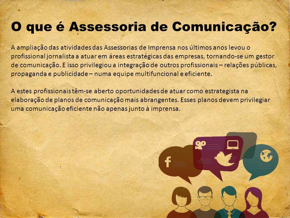 O que é Assessoria de Comunicação