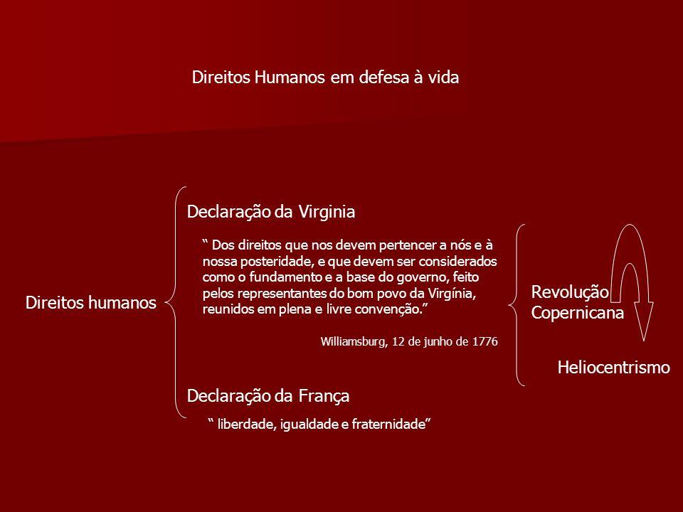 Direitos Humanos em defesa à vida
