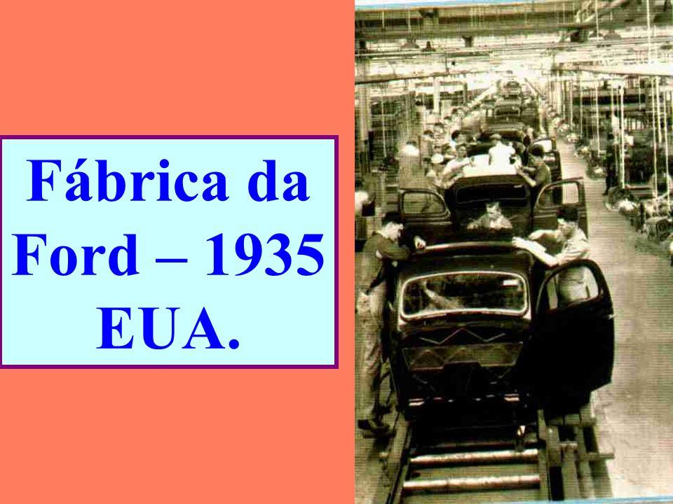Fábrica da Ford – 1935 EUA.