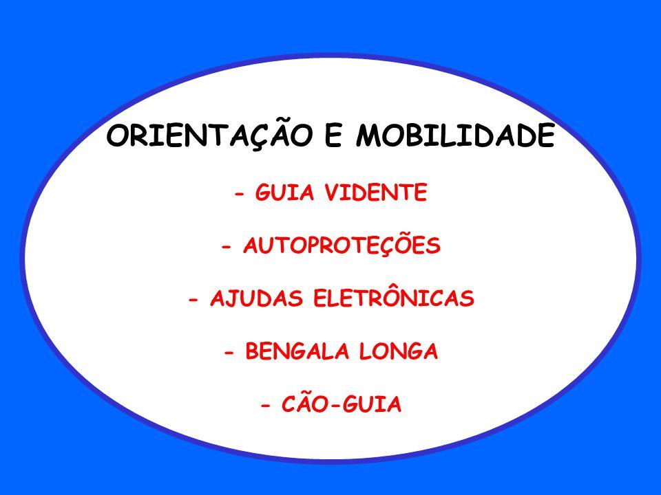 ORIENTAÇÃO E MOBILIDADE