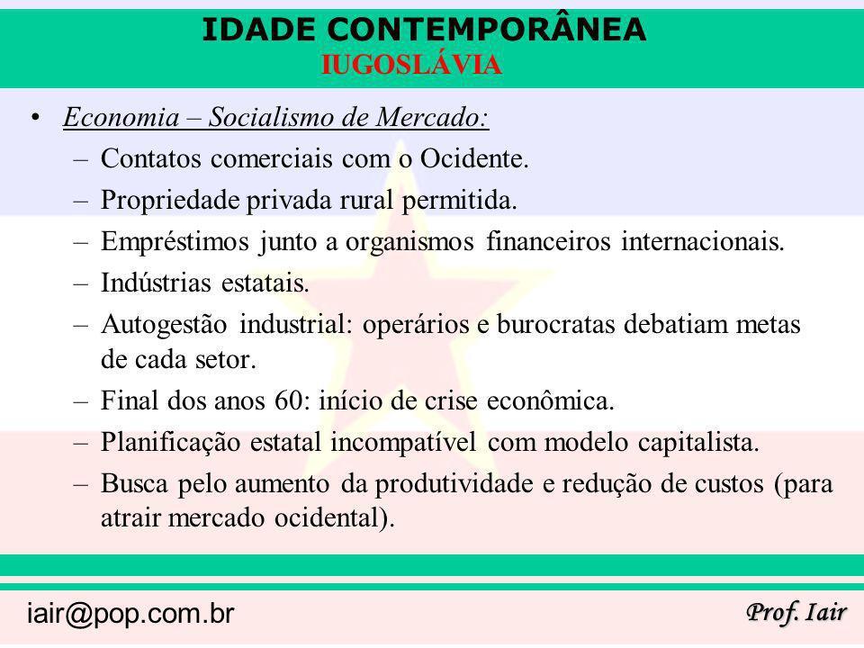 Economia – Socialismo de Mercado: