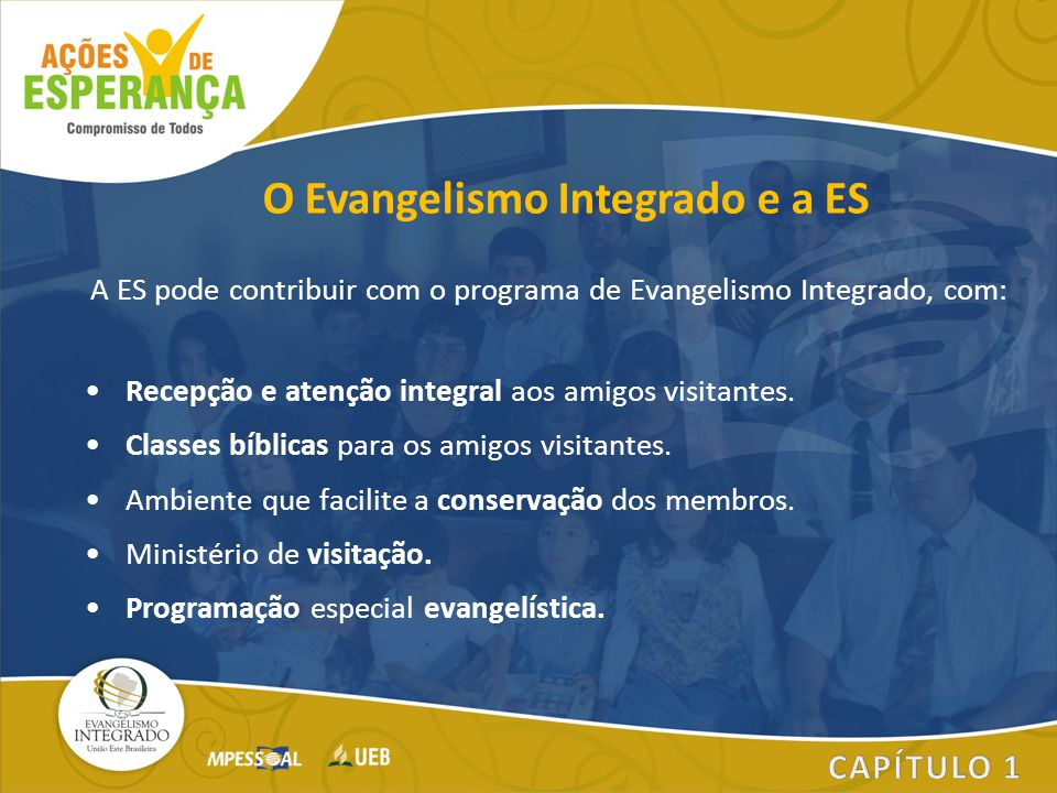 O Evangelismo Integrado e a ES