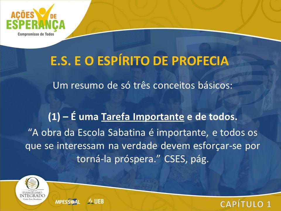 E.S. E O ESPÍRITO DE PROFECIA