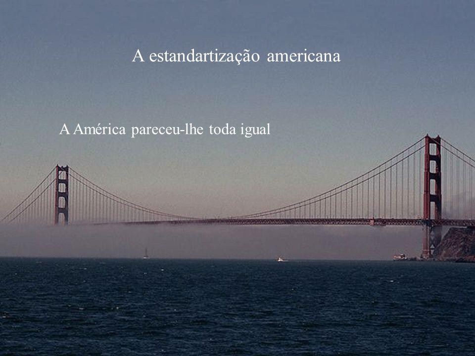 A estandartização americana