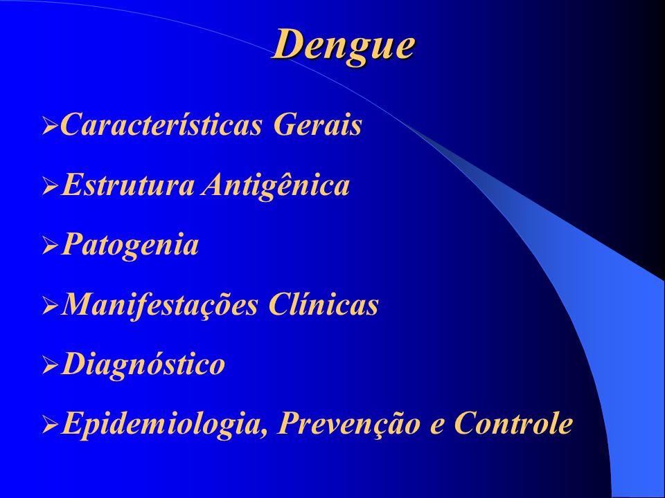Dengue Estrutura Antigênica Patogenia Manifestações Clínicas