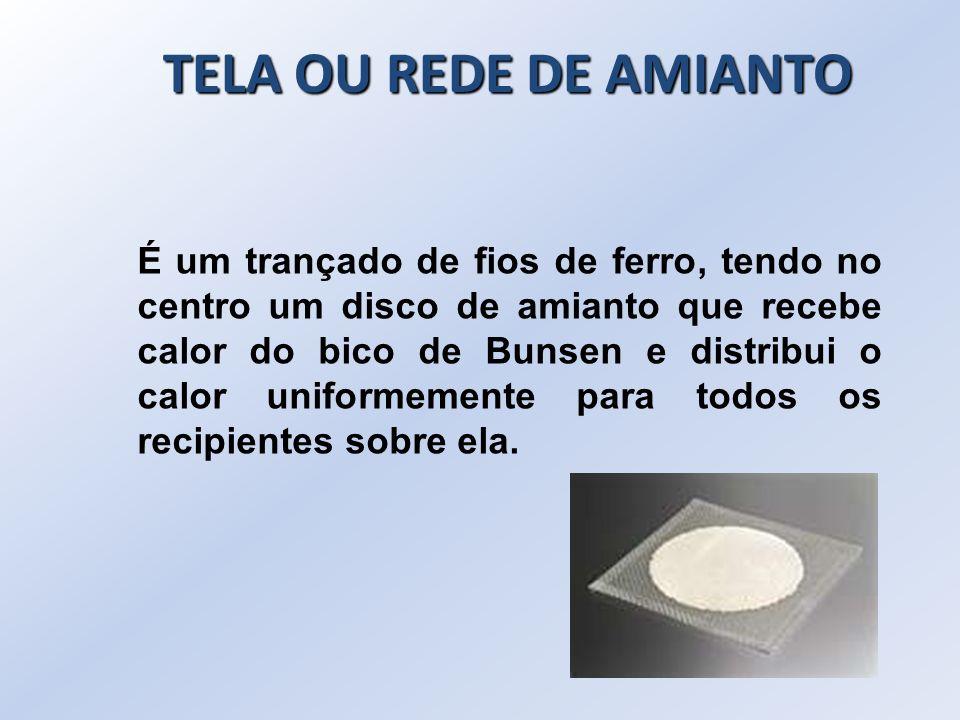TELA OU REDE DE AMIANTO