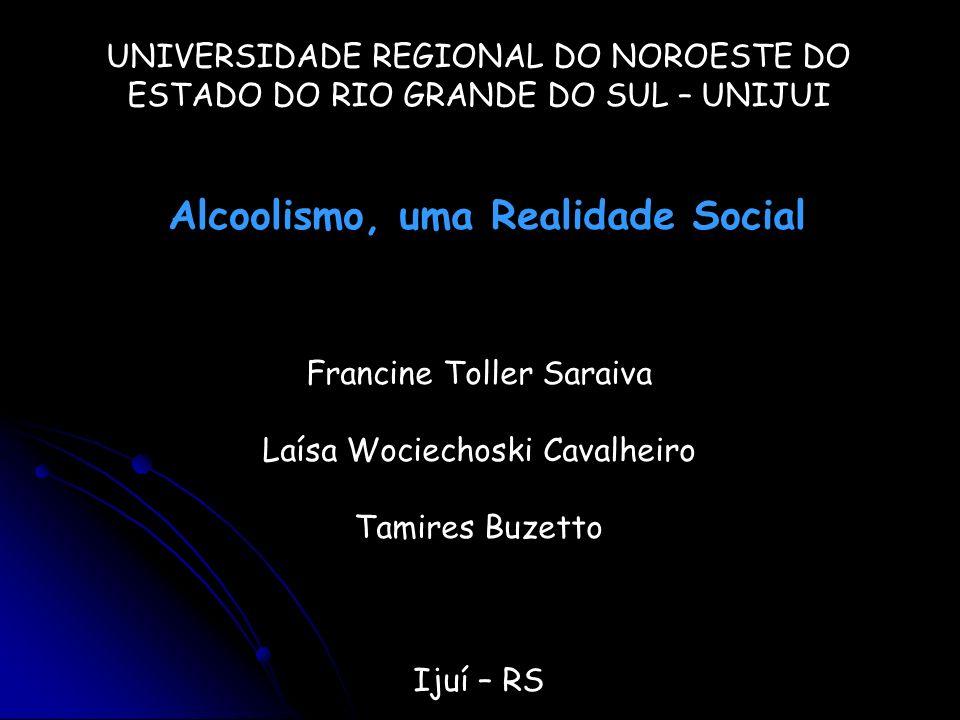 Alcoolismo, uma Realidade Social