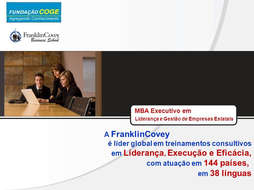 é líder global em treinamentos consultivos