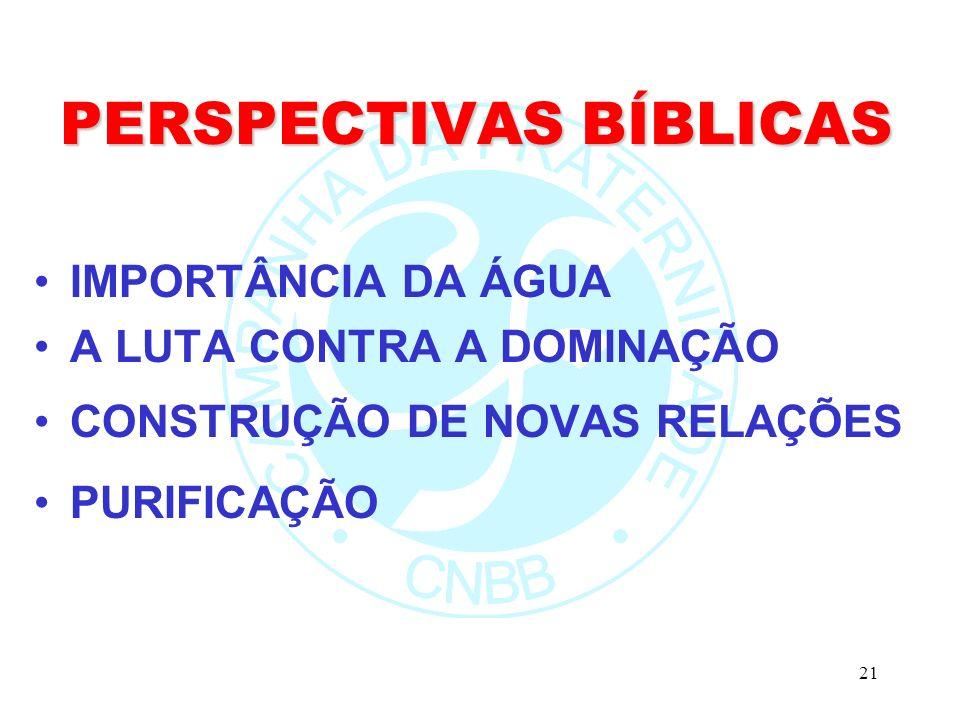 PERSPECTIVAS BÍBLICAS
