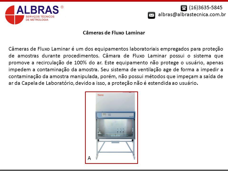 Câmeras de Fluxo Laminar