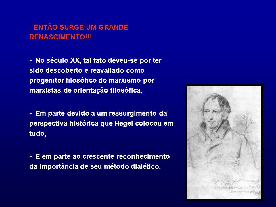 - ENTÃO SURGE UM GRANDE RENASCIMENTO!!!