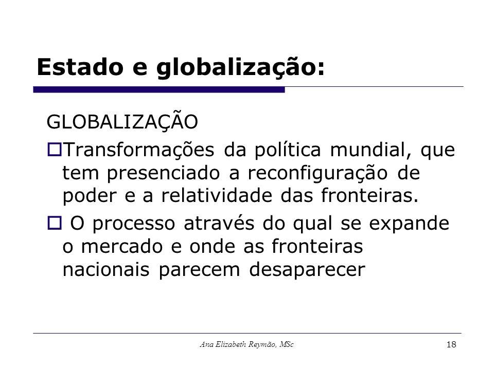 Estado e globalização: