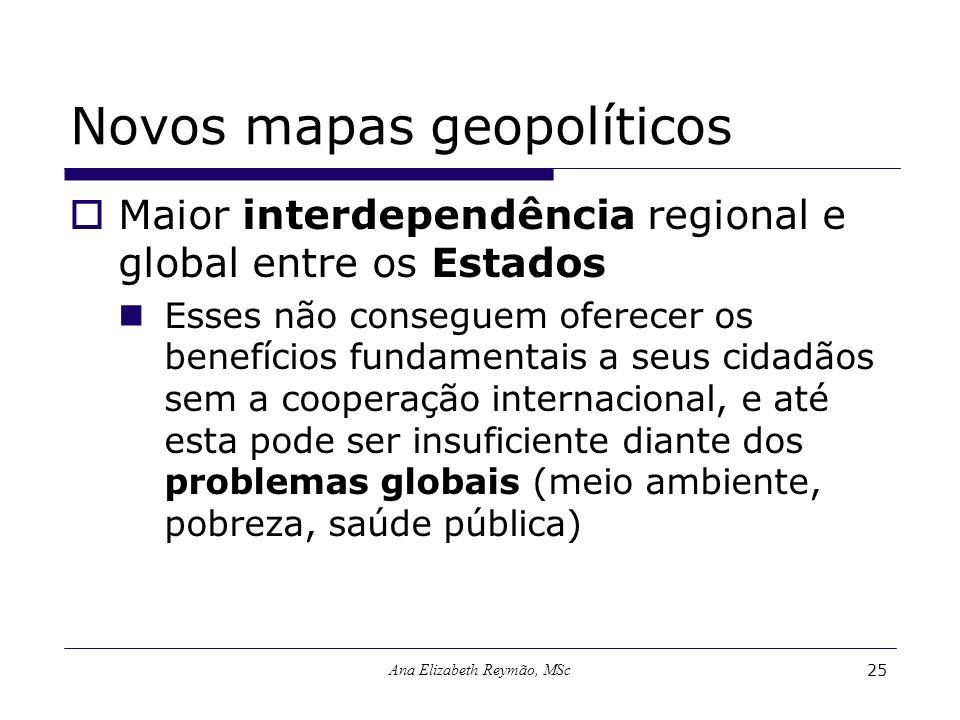 Novos mapas geopolíticos