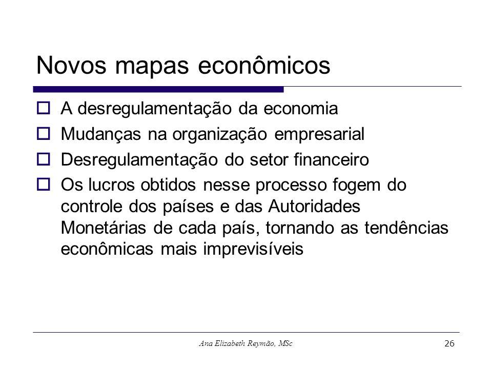 Novos mapas econômicos