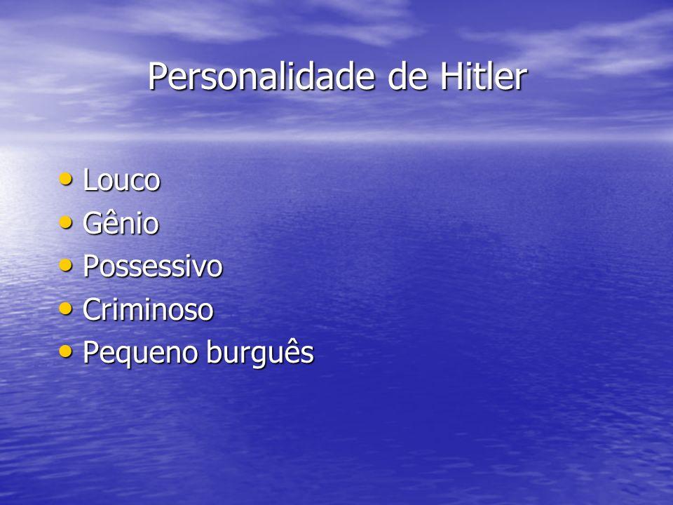 Personalidade de Hitler