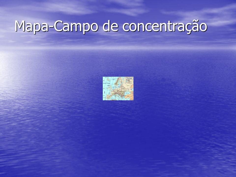 Mapa-Campo de concentração