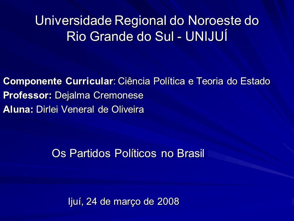 Universidade Regional do Noroeste do Rio Grande do Sul - UNIJUÍ