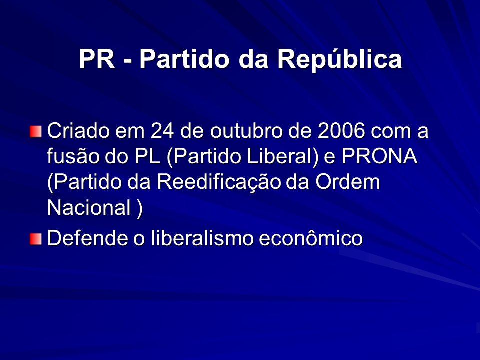 PR - Partido da República