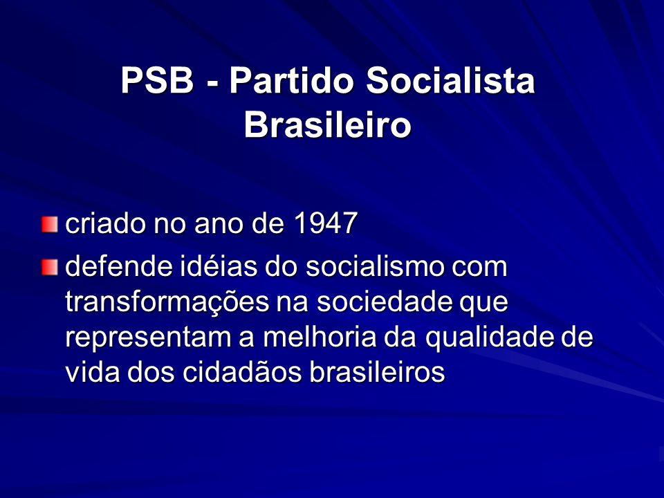 PSB - Partido Socialista Brasileiro