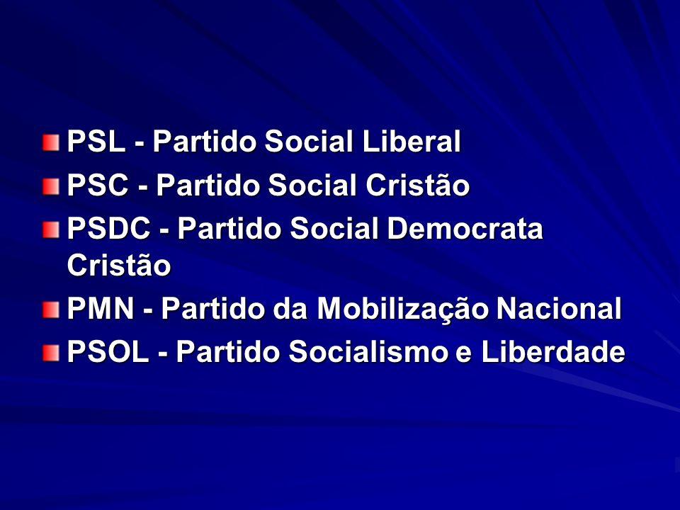 PSL - Partido Social Liberal