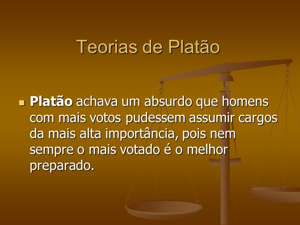Teorias de Platão