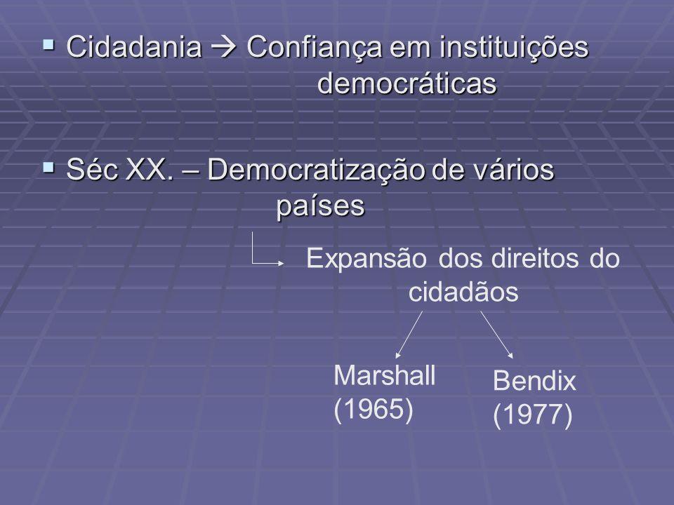 Expansão dos direitos do cidadãos