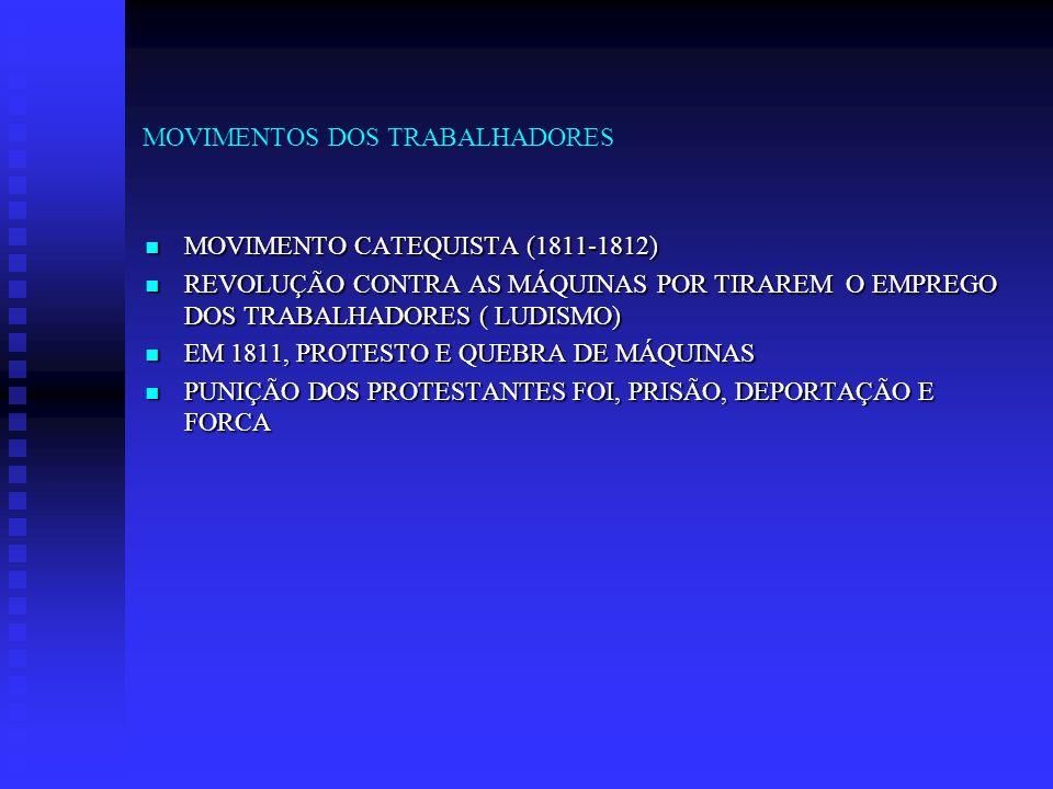 MOVIMENTOS DOS TRABALHADORES