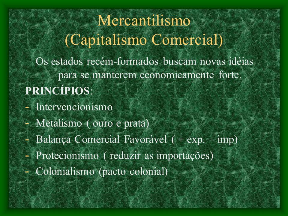 Mercantilismo (Capitalismo Comercial)