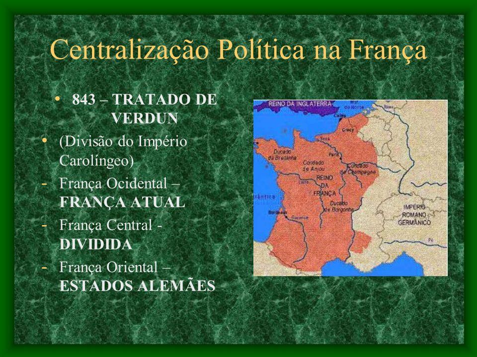 Centralização Política na França