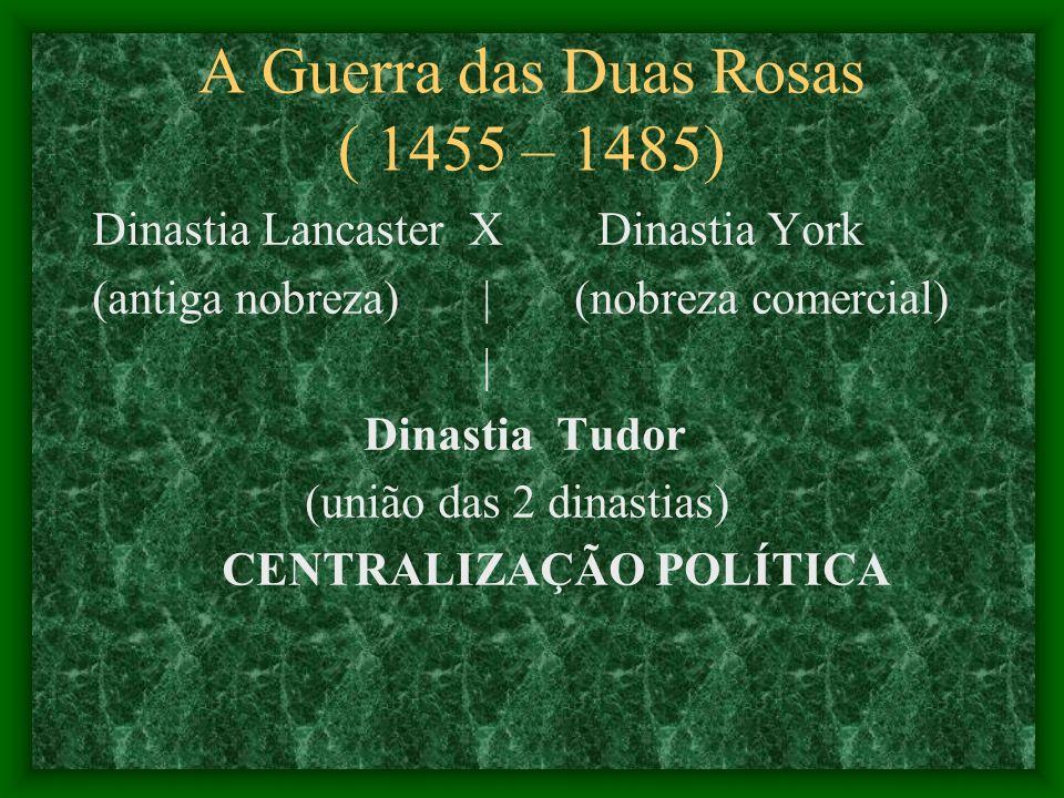 A Guerra das Duas Rosas ( 1455 – 1485)