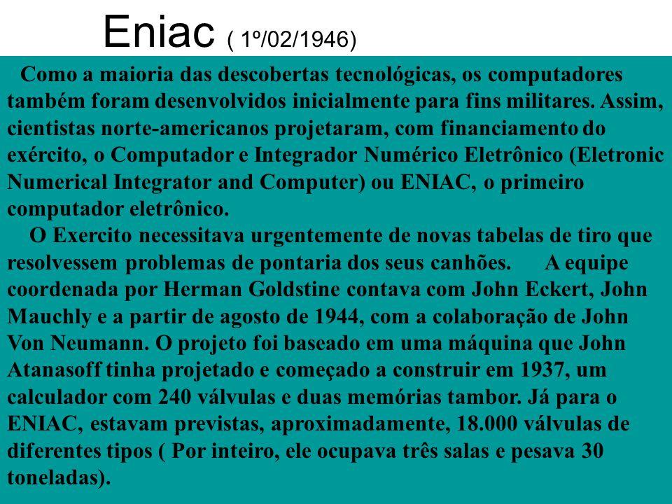 Eniac ( 1º/02/1946)