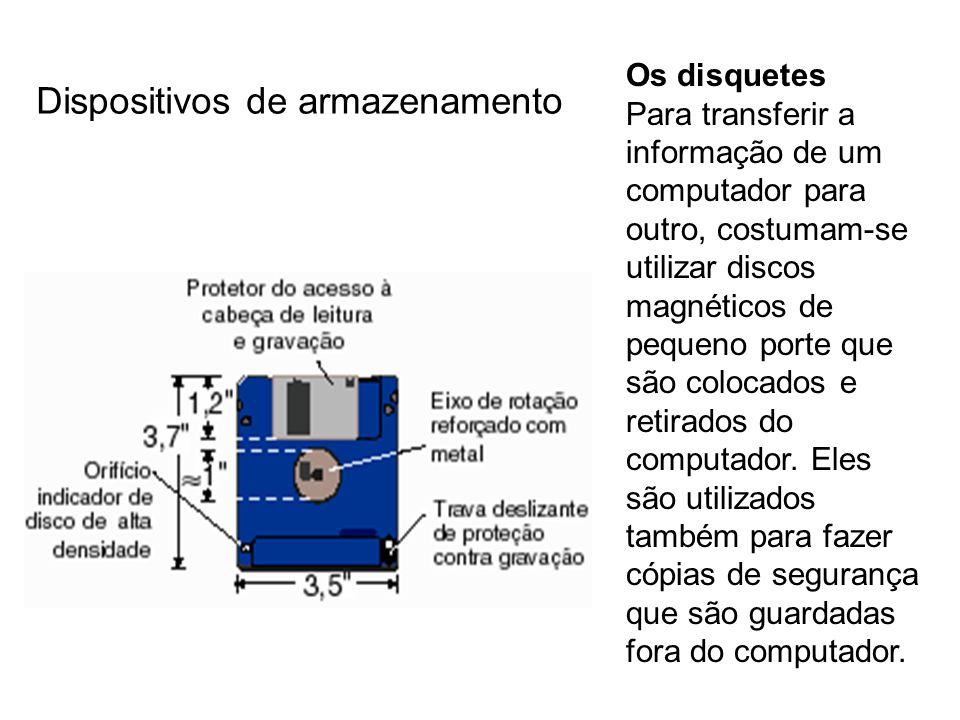 Dispositivos de armazenamento