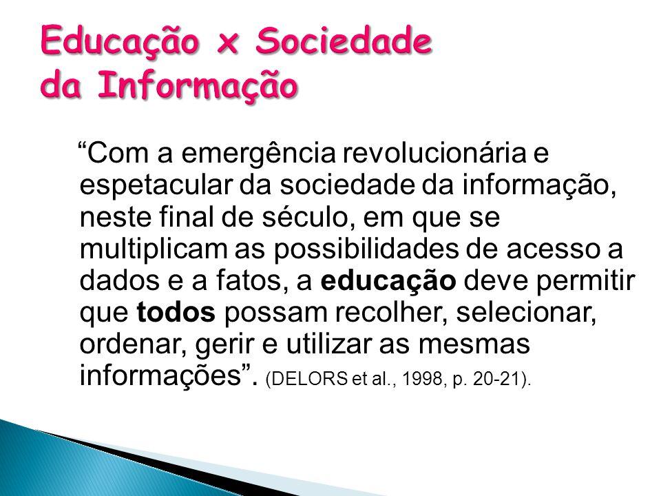 Educação x Sociedade da Informação