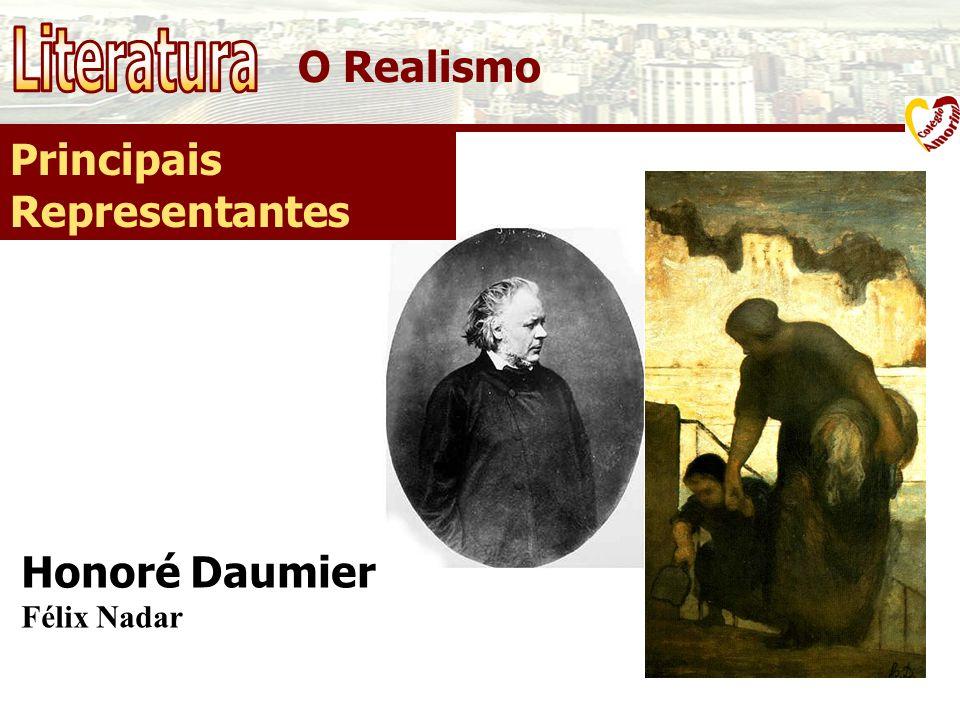 Literatura O Realismo Principais Representantes Honoré Daumier