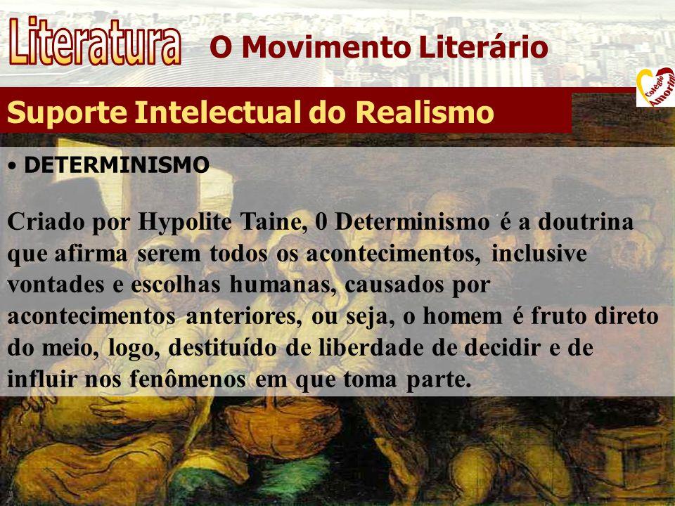 Literatura O Movimento Literário Suporte Intelectual do Realismo