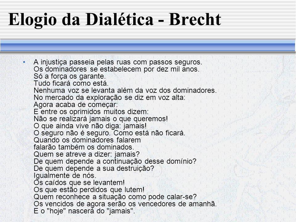 Elogio da Dialética - Brecht