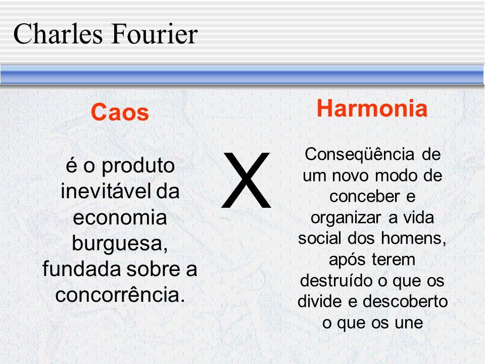 X Charles Fourier Harmonia Caos