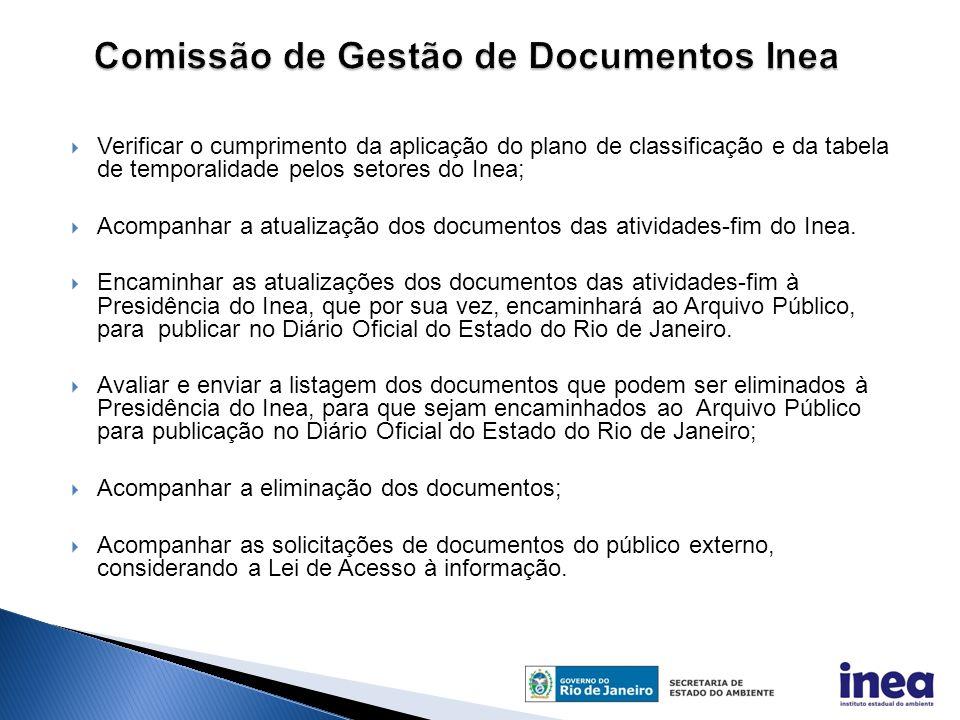 Comissão de Gestão de Documentos Inea