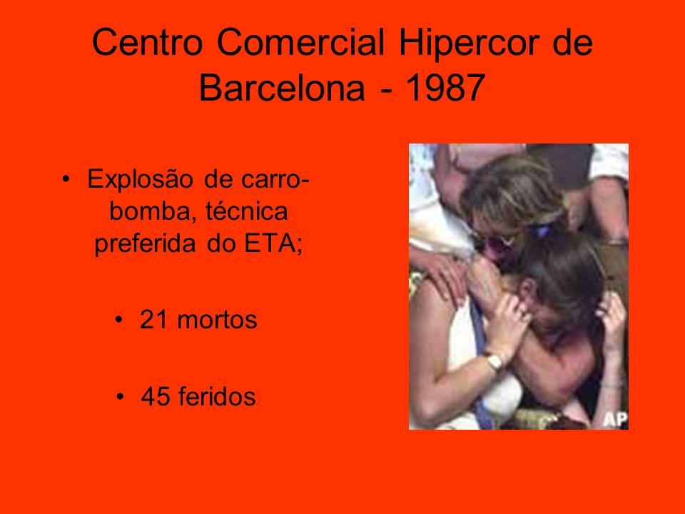 Centro Comercial Hipercor de Barcelona - 1987