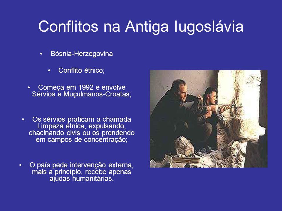 Conflitos na Antiga Iugoslávia