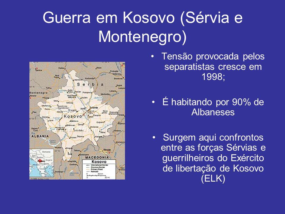 Guerra em Kosovo (Sérvia e Montenegro)